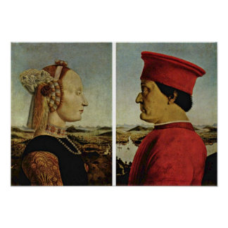 Piero della Francesca - Diptych Poster