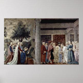 Piero della Francesca - Queen of Sheba Poster