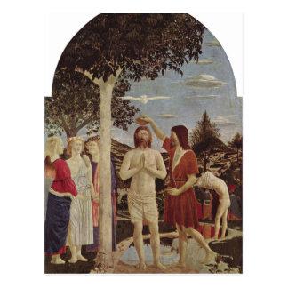 Piero della Francesca Taufe Christi um 1440-1450 c Postcards