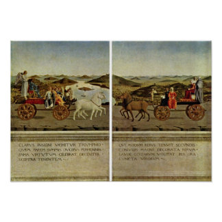 Piero della Francesca - Triumph of the Duke Poster