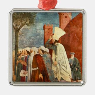 Piero Francesca- Heraclius Restores the Cross Christmas Tree Ornaments
