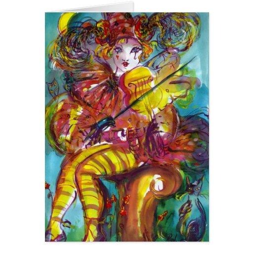 PIERO / Venetian Carnival Night Cards
