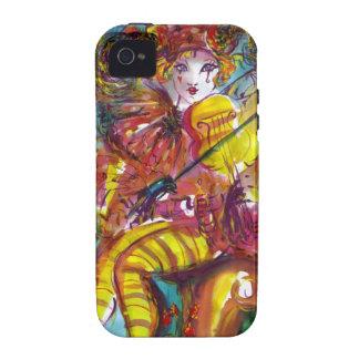 PIERO / Venetian Carnival Night Case-Mate iPhone 4 Covers