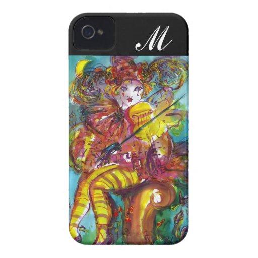 PIERO / Venetian Carnival Night Monogram iPhone 4 Cover
