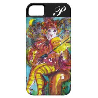 PIERO / Venetian Carnival Night Monogram iPhone 5 Cases