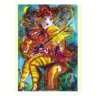 PIERO Venetian Carnival Night Post Cards