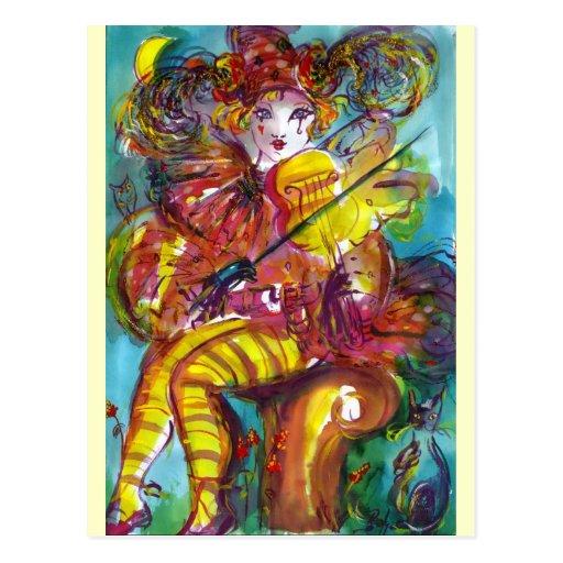 PIERO / Venetian Carnival Night Post Cards