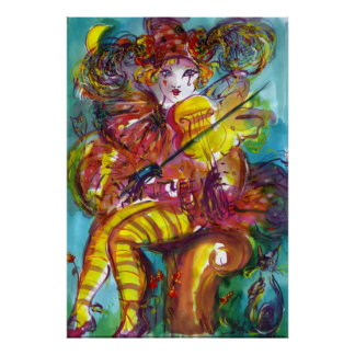 PIERO/ Venetian Carnival Night Poster
