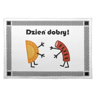 Pierogi & Kielbasa - Dzien Dobry! Placemat