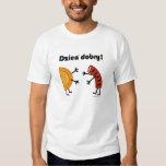 Pierogi & Kielbasa Dzien Dobry! Polish Food T-shirt