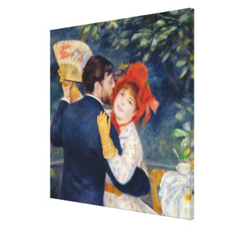 Pierre A Renoir   A Dance in the Country Canvas Print