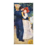 Pierre A Renoir | A Dance in the Country Canvas Print