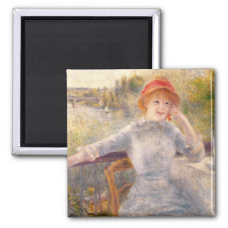 Pierre A Renoir | A. Fournaise at The Grenouillere Magnet