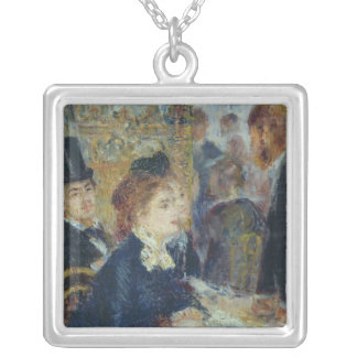 Pierre A Renoir | At the Caf� Silver Plated Necklace