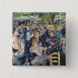 Pierre A Renoir | Ball at the Moulin de la Galette 15 Cm Square Badge