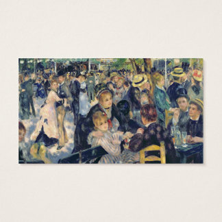 Pierre A Renoir | Ball at the Moulin de la Galette Business Card