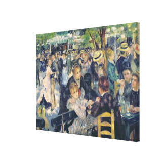 Pierre A Renoir | Ball at the Moulin de la Galette Canvas Print