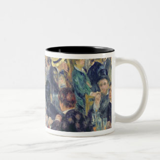 Pierre A Renoir | Ball at the Moulin de la Galette Two-Tone Coffee Mug