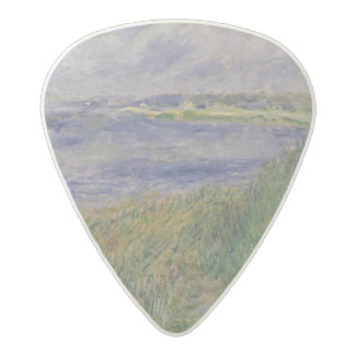 Pierre A Renoir | Banks of the Seine, Champrosay Acetal Guitar Pick