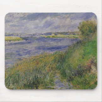 Pierre A Renoir | Banks of the Seine, Champrosay Mouse Mat