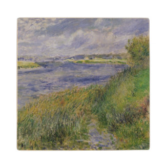 Pierre A Renoir | Banks of the Seine, Champrosay Wood Coaster