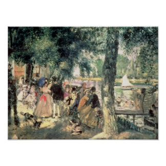 Pierre A Renoir | Bathing on the Seine  Poster