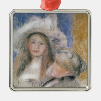 Pierre A Renoir | Berthe Morisot and her Daughter Christmas Ornament