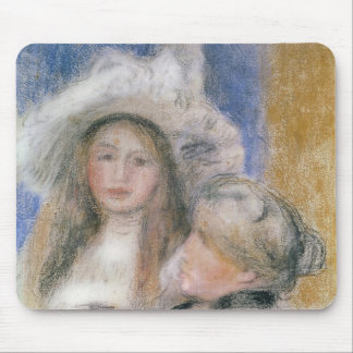 Pierre A Renoir | Berthe Morisot and her Daughter Mouse Pad