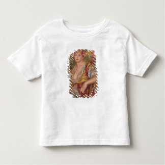 Pierre A Renoir | Blonde Woman with a Rose Toddler T-Shirt