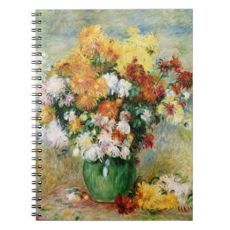 Pierre A Renoir | Bouquet of Chrysanthemums Notebook