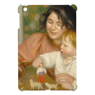 Pierre A Renoir | Child with Toys iPad Mini Cases