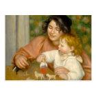Pierre A Renoir | Child with Toys Postcard