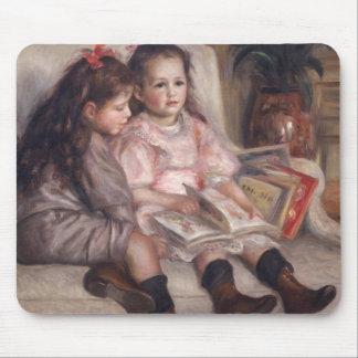 Pierre A Renoir | Children Of Martial Caillebotte Mouse Mat