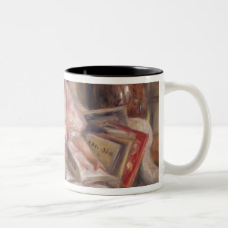 Pierre A Renoir | Children Of Martial Caillebotte Two-Tone Coffee Mug