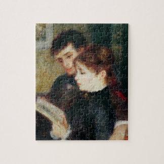 Pierre A Renoir | Couple Reading Jigsaw Puzzle