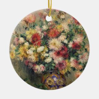 Pierre A Renoir | Dahlias Christmas Ornament