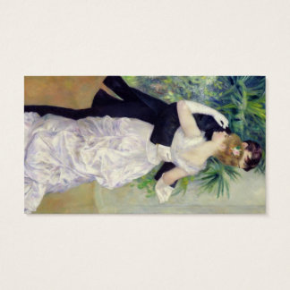 Pierre A Renoir | Dance in the City Business Card