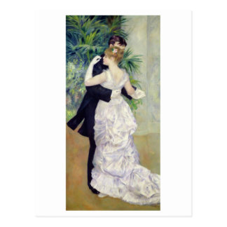 Pierre A Renoir | Dance in the City Postcard