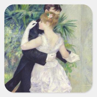 Pierre A Renoir | Dance in the City Square Sticker