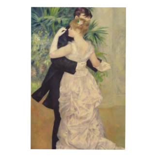 Pierre A Renoir | Dance in the City Wood Print