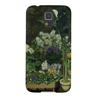 Pierre A Renoir | Flowers in a Greenhouse Galaxy S5 Cover