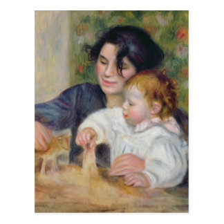 Pierre A Renoir | Gabrielle and Jean Postcard