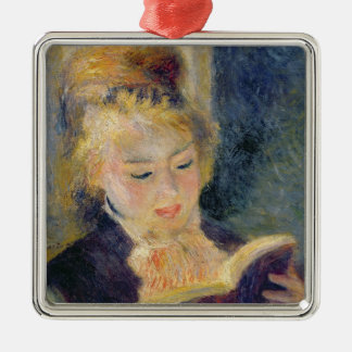 Pierre A Renoir | Girl Reading Christmas Ornament