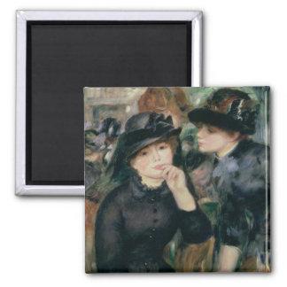 Pierre A Renoir | Girls in Black Magnet
