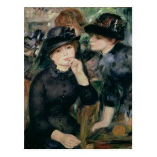 Pierre A Renoir | Girls in Black Postcard