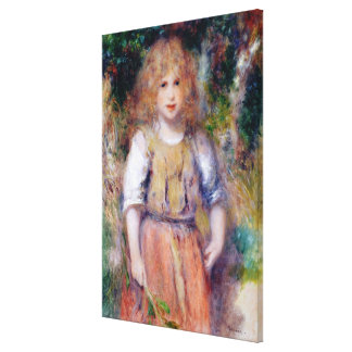 Pierre A Renoir | Gypsy Girl Canvas Print