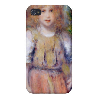 Pierre A Renoir | Gypsy Girl iPhone 4 Cases