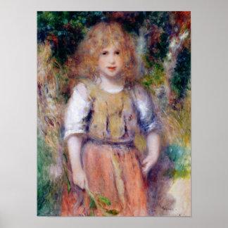 Pierre A Renoir   Gypsy Girl Poster
