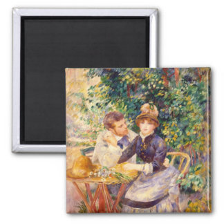 Pierre A Renoir | In the Garden Magnet