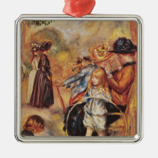 Pierre A Renoir | In the Luxembourg Gardens Christmas Ornament